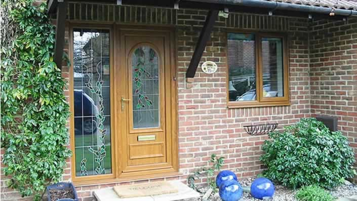 panelled upvc doors